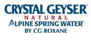Crystal Geyser Spring Water