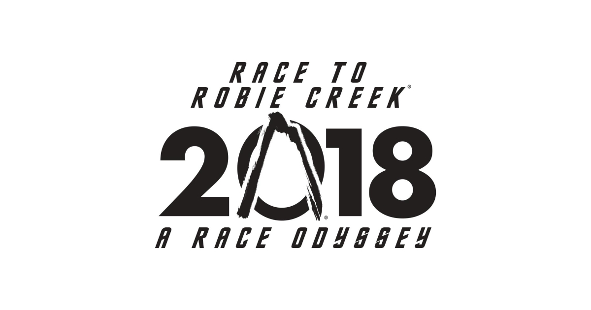 Image result for race to robie creek logo 2018