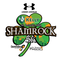 2018 Under Armour KELLY St. Patrick's Day Shamrock 5K