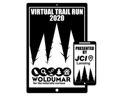 Woldumar Virtual Trail 5k, presented by JCI Lansing