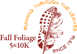 Fall Foliage 10K Run, 5K Run/Fun Walk