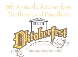 8th Annual Oktoberfest Triathlon & Duathlon