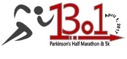 Parkinson's Half Marathon, 5k and 1 Mile Walk