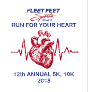 12th Annual Fleet Feet Run For Your Heart 5K/10K and Kids Fun Run