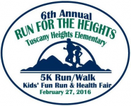 6th Annual Run for the Heights, 5K Run/Walk, Kids' Fun Run, & Health Fair