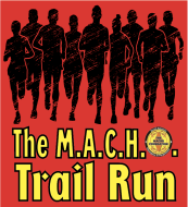 The MACHO Trail Run Logo