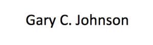 Gary C. Johnson