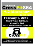 6th Annual CrossFit864 1/2 marathon and 5k