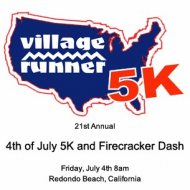 Village Runner 4th of July 5K presented by UCLA Health