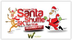 Kansas City Santa Shuffle Run 5K Run/Walk