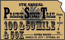 Prairie Spirit Trail 100 Mile, 50 Mile, and 50K