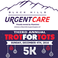 Black Hills Urgent Care Trot for Tots