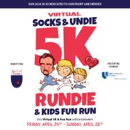 Socks & Undie Virtual 5K Rundie Run/Walk