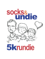 Note in the Pocket Socks & Undie 5K Rundie and Kids 1/2 K