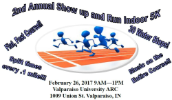 Show up and Run Indoor 5K