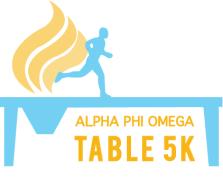 Alpha Phi Omega's TABLE 5K