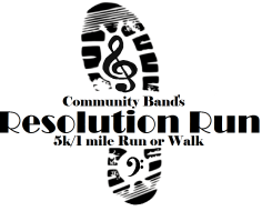 Community Band 5k/1mile Resolution Run
