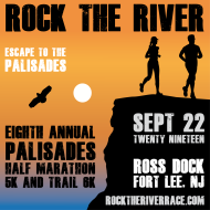 Rock the River: Palisades Half Marathon, 5K, and Trail 6K