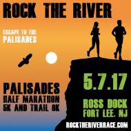 Rock the River: Palisades Half Marathon, 5K, and Trail 6K