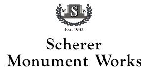 Scherer Monument Works
