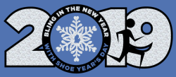 Bling in the New Year with Shoe's Year Day Virtual 5K