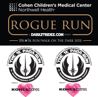 ROGUE RUN a DarkStrides.com event Logo