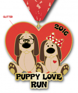 The 2016 Puppy Love Virtual Run - 5k/10k/Half Marathon