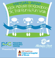 Kick Abuse at Kickapoo 5K - Virtual!