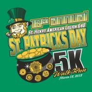St Patrick's Day 5K Run/Walk
