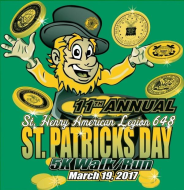 St Patrick's Day 5K Run/Walk