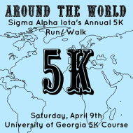Sigma Alpha Iota's 5K Around the World