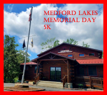 Medford Lakes Colony Memorial Day 5K Run