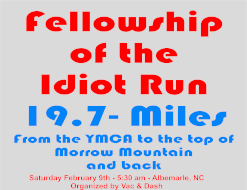 Fellowship of the Idiots 19.7m Run