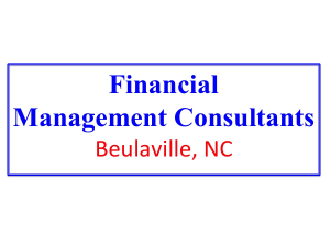 Financial Management Consultants