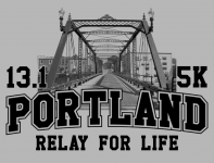 Portland Relay For Life Half Marathon & 5K