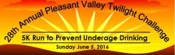 28th Annual Pleasant Valley Twilight Challenge 5K