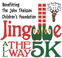 Jingle All The Way 5k Logo