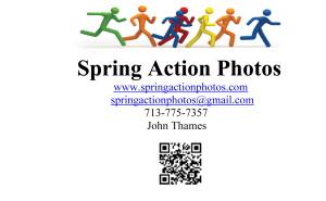 SPRING ACTION PHOTOS