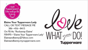 Tupperware by Elaine