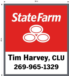 Tim Harvey, State Farm
