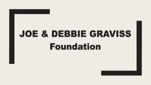 Joe and Debbie Graviss Foundation