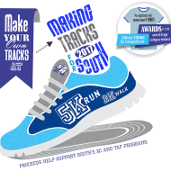 Tracks for South 5K