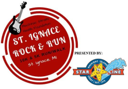 2020 St. Ignace Rock & Run 10K and 5K - Presented by Star Line Ferry Service