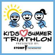 Stomp the Monster - Kids Love Summer Triathlon
