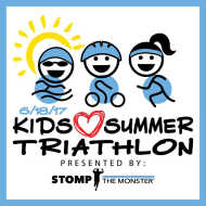 Stomp the Monster - Kids Love Summer Triathlon