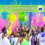 Color Vibe 5K -- Lake Charles