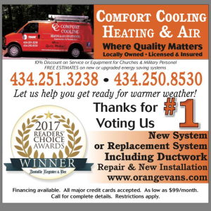 Comfort Cooling Heating & Air