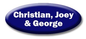 Christian, Joey & George