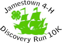 Jamestown 4-H Discovery Run 10K