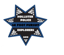 Hollister Police Explorers 5K Foot Pursuit